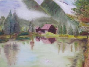 Chalet en bordure de lac