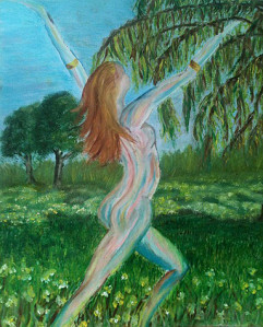 Eve au jardin