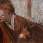 Mélancolie de Degas - Pastel mouillé